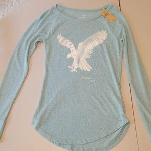 XS American Eagle Soft & Sexy long sleeve shirt